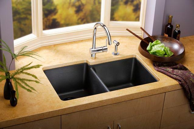 cara menjaga kitchen sink tetap bersih