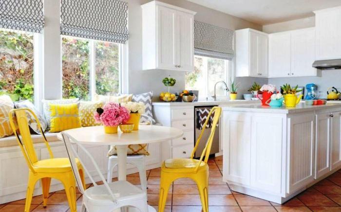 warna putih pada dapur