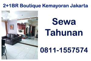 sewa harian apartemen The Boutique Kemayoran