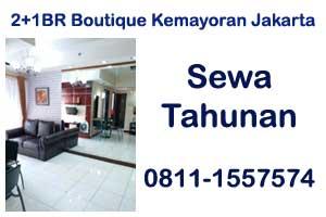 sewa harian apartemen The Boutique Kemayoran