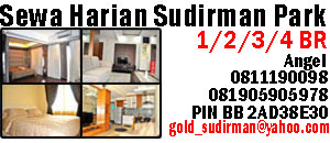 sewa harian apartemen Sudirman Park