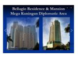 Disewakan Apartemen Bellagio Residence – 1 BR / 2 BR / 3 BR Full Furnished, best deal