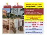 Disewakan Apartemen Grand Kamala Lagoon – Studio Fully Furnished, All Brand New & Siap Huni
