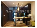 Disewakan Apartment Residence 8 Senopati 1/2 and 3 Br, (Private lift), Full Furnished.