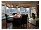 DISEWA/FOR RENT Apartemen Setiabudi 3+1BR - 159 sqm, Total Renov - Hadap Timur