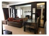 Disewakan apt sudirman park 2 BR tower a 30 view pool + city ff (owner)