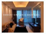 DISEWAKAN CEPAT Apartment Mewah Residence 8 Senopati - 1 bedrooms, luas 94 Sqm Full Furnished Lokasi dan View strategis