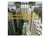 view dari aatas apartemen gateway