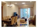 Disewakan Apartemen Senayan Residence, Jakarta Selatan - Tower 1 Tipe 2 BR Luas 95 m2 , Furnished View Swimming Pool