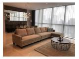 DiJual dan DiSewakan Apartemen Casa Domaine (Area Shangri-La Hotel, Jakarta Pusat) – Brand New 2 BR & 3 BR Fully Furnished