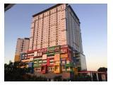 Disewakan/Dijual Apartemen Bassura City - Type Studio, 2BR & 3BR Furnished & Unfurnished