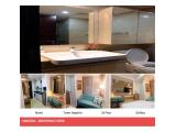 For Rent Monthly & Yearly Menteng Park Apartment in Central Jakarta – Studio / 1 BR / 2 BR / 3 BR Sapphire & Diamond Luxurious Furnished