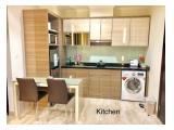 Disewakan / Dijual Cepat Apartemen Menteng Park - Studio / 2 BR Full Furnished - Nego Sampai Jadi