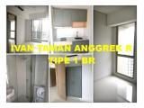 Disewakan Apartemen Taman Anggrek Residences di Jakarta Barat – Studio / 1 / 2 / 3 BR Semi Furnished & Full Furnished, Harga Terbaik