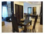 For rent apartment Belleza Permata Hijau 2+1 bedroom, size 120 sqm + BONUS Free internet+tv!!!