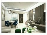 Disewa Apartemen Anandamaya Residences Sudirman di Jakarta Selatan – 2 BR Deluxe 131 m2 Fully Furnished