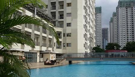 For Rent Jakarta Residence Apartment In Central Full Furnished 40 M2