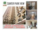Disewakan Apartemen Sunter Park View type Studio / 2 BR Furnished