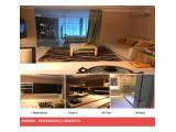 For Rent and Sale Residence 8 Senopati Apartment in South Jakarta – 1 BR / 2 BR / 3 BR Tower 1/2/3 Luxurious Furnished