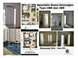 Disewakan Unit Unfurnished All Tower Apartemen Bassura City Banyak Pilihan di Jakarta Timur