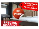 (PROMO LEBARAN ) Apartement Thamrin Residence 1 BR Jakarta