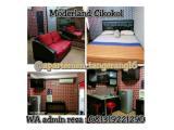 Sewa Apartemen Modernland Cikokol Tangerang - Studio & 2 BR Furnished - Transit & Harian
