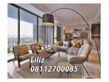 For Rent Apartment 1 Park Gandaria – 2 / 2+1 / 3 Bedrooms (All Type Available)