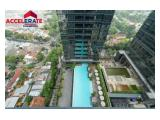 Apartemen District 8 Senopati Disewakan di Jakarta Selatan – 3  BR Furnished Size 228 Sqm