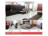 sewa bulanan dan tahunan Apartemen Thamrin Residence - 1/2/3 BR High floor neat & furnished