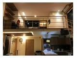 For Rent Apartement City Loft 1+1bedroom sudirman
