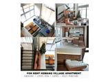 Kemang Village Apartment - All type room 1 BR / 2 BR / 3 BR / 4 BR ( Many choices )