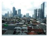 Disewakan Apartemen Tamansari Sudirman – Setiabudi, Jakarta Selatan – Studio 29 m2 Fully Furnished