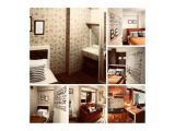 Di sewakan murah unit 2 bedroom full furnish tower dahlia lt.22 Rp.48jt/thn