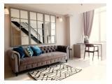 apartement u residence karawaci tower 1 2 dan 3 type 2br di sewakan per month fully furnish