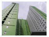 Disewakan Bulanan Apartemen Green Pramuka – Type Studio Full Furnished  -  10th  Floor