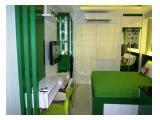 Disewakan Apartment Exclusive The Green Pramuka Type Studio Fasilitas Lengkap.