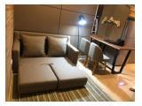 Disewakan 1br luas 42m fully furnished siap huni 3,6,12 bulan