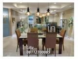 Sewa Apartemen Golfhill Terrace 3+1 Bedroom Lantai Tengah Tower B Fully Furnished