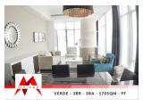 Disewakan Apartment Verde Residence – 3 BR at East Tower, Fully Furnished, Pet Friendly, Spacious, By Malago Project