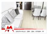 Sewa Apartemen South Hills Kuningan – Brand New, 2 BR, Fully Furnished by Malago Project