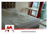 For Rent Thamrin Residence apartment, 1BR, well maintained, nice view, fully furnished, at BEST Price - by Malago Project
