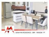 disewakan apartment senayan residence, 3 BR, Fully Furnished, best price, by Malago Project