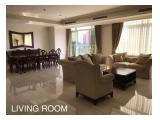 Disewakan Apartemen Botanica Simprug Jakarta Selatan – 2 / 3+1 BR Fully Furnished