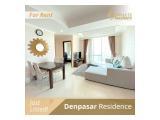 Disewakan Apartment Denpasar Residence Kuningan City – Kintamani/Ubud 1 / 2 / 3 BR Full Furnished