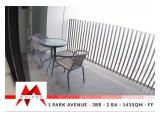 Disewakan Apartment 1Park Avenue Gandari - 2+1 BR, Fully Furnished, at LOWEST PRICE, by Malago Project
