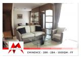 Disewa Essence Dharmawangsa 1 BR, 2 BR & 3 BR. Nice furniture, Spacious, Well Maintained at Friendly Price - By MALAGO PROJECT