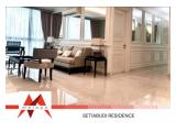 Disewakan Apartemen Setiabudi Residence – 2 BR & 3 BR, Private lift, Fully Furnished, Spacious, City View, Negotiable, by Malago Project