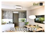 For Rent Apartment 1 Park Avenue Gandaria 2 / 2+1 / 3 Bedrooms (All Type Available) Fully Furnished