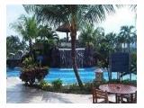 A cozy pool outside