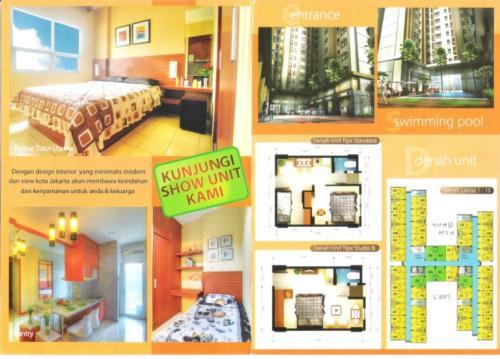 Jual Sewa Apartemen Mt Haryono Residence 2 Br